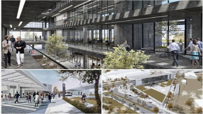 İzmir Ulaşım Entegrasyon Merkezi'nin Mimari Projesi Belli Oldu