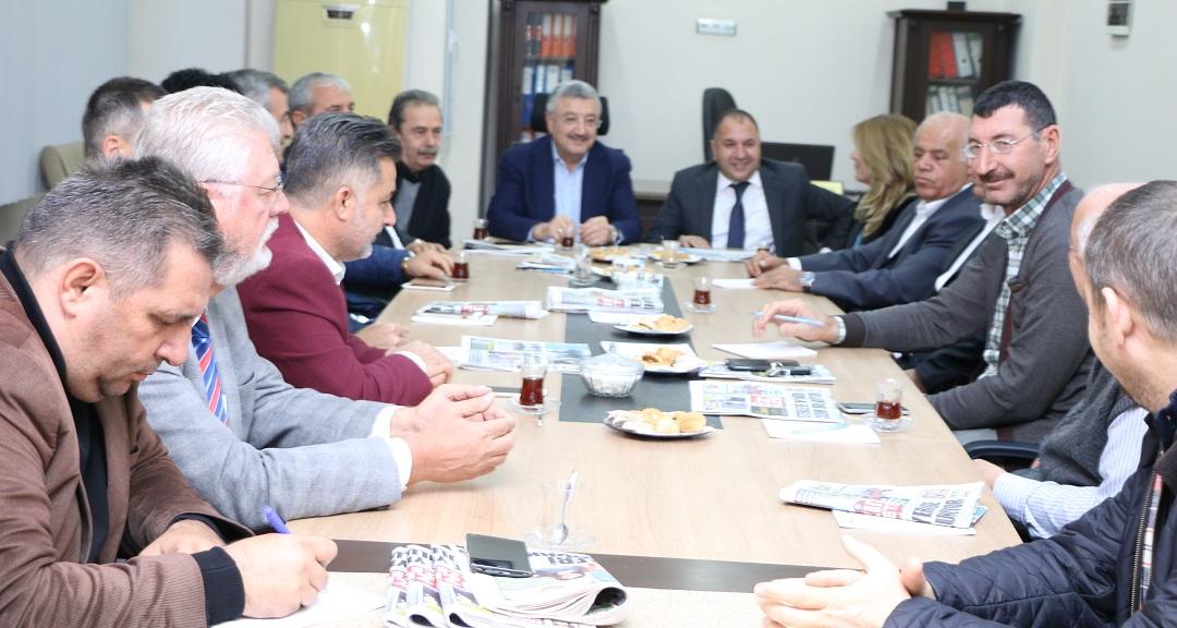 İzmir Müteahhitler Federasyonu Toplantısına Koronavirüs Engeli