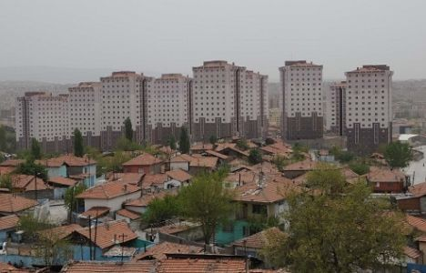 Ankara'da 40 Bin Gecekondunun Yerine Lüks Konutlar Yapıldı!