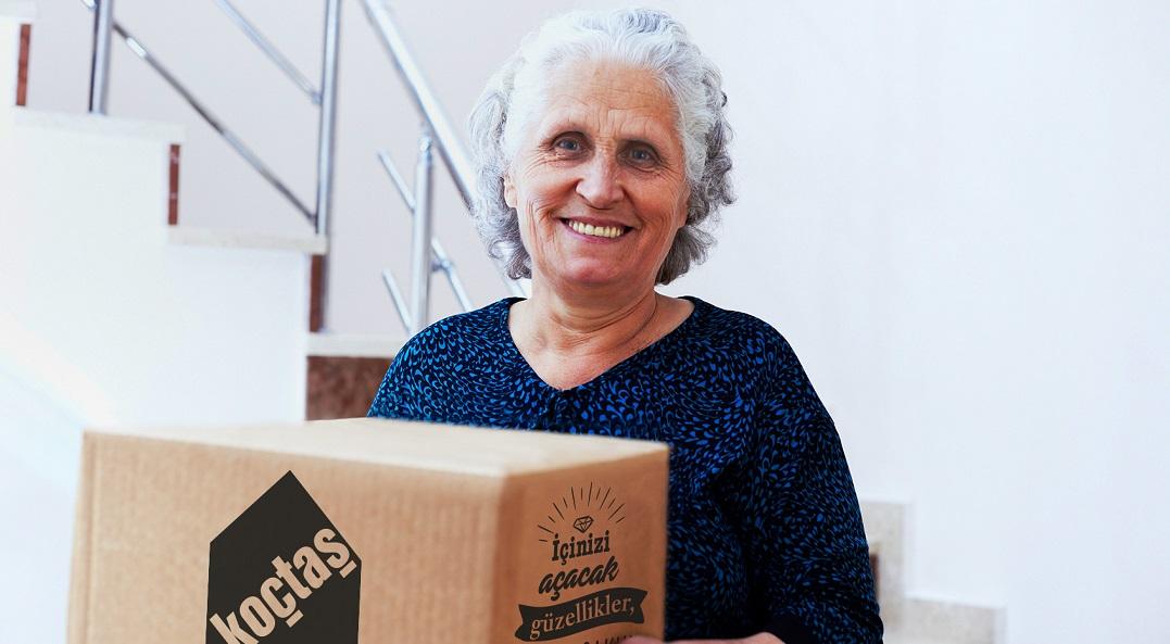 Koçtaş'tan 65 Yaş Üstüne Ücretsiz Nakliye ve Montaj Hizmeti