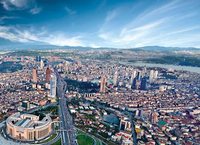 İstanbul'un Bazı İlçelerinde Konut Ve Arsa Fiyatı Yükseldi