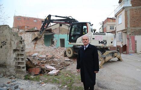 Bursa Osmangazi'deki 8 Bina Yıkıldı!