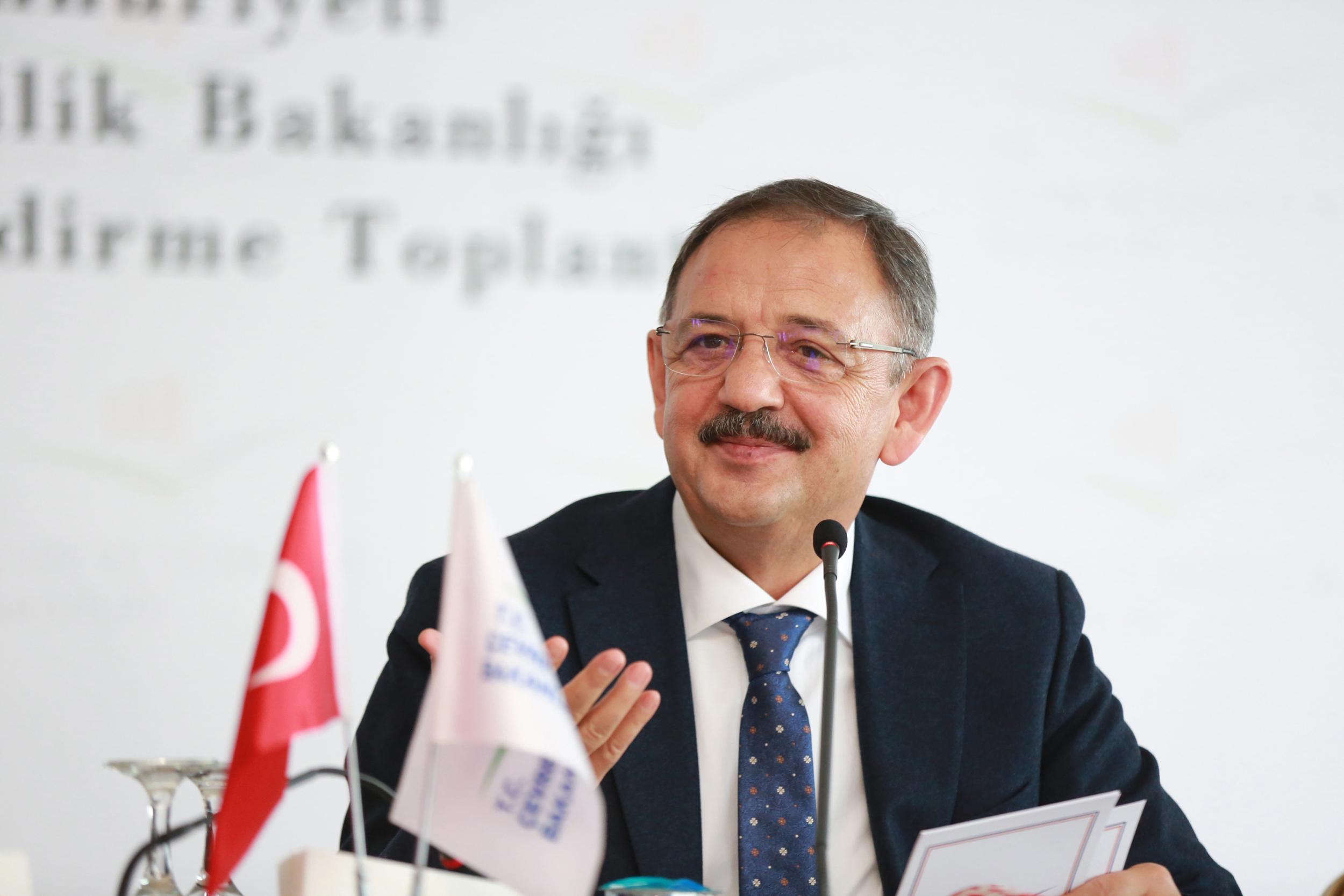 Mehmet Özhaseki Yeni Kentsel Dönüşüm Stratejisini Anlattı