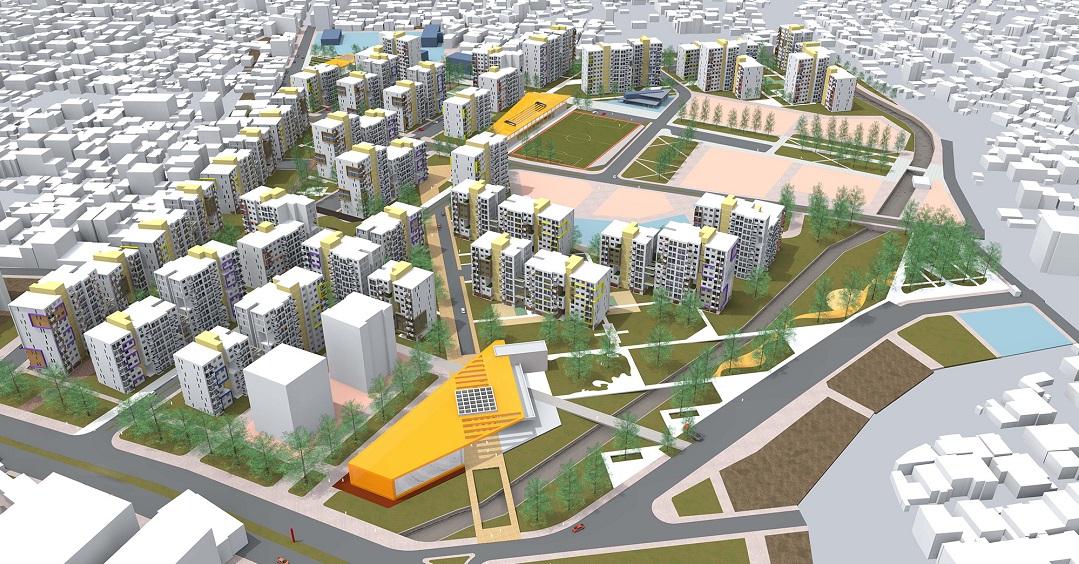Örnekköy Kentsel Dönüşüm Projesi 349 Milyon TL'ye İhaleye Çıktı