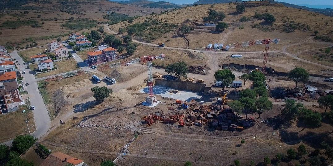 TOKİ Bergama Projesinin İnşaatı Başladı