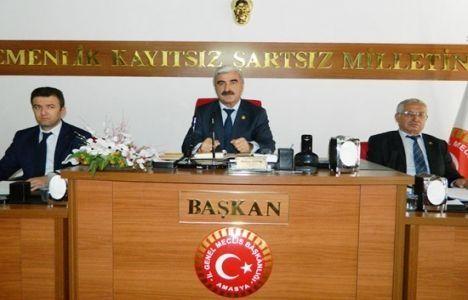 Amasya Belediye Meclisi'nde İmar Konuşuldu!