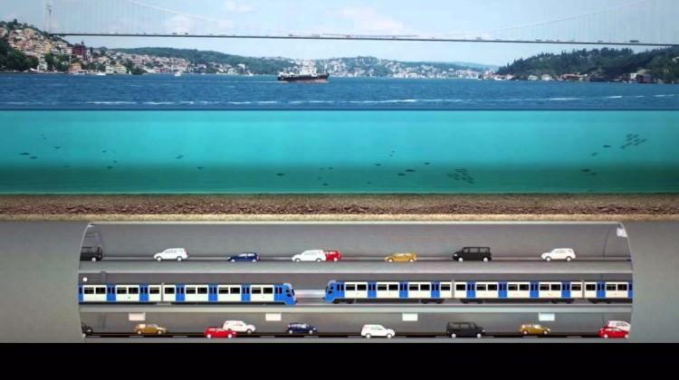 3 Katlı Büyük İstanbul Tüneli'nde Yeni Gelişme