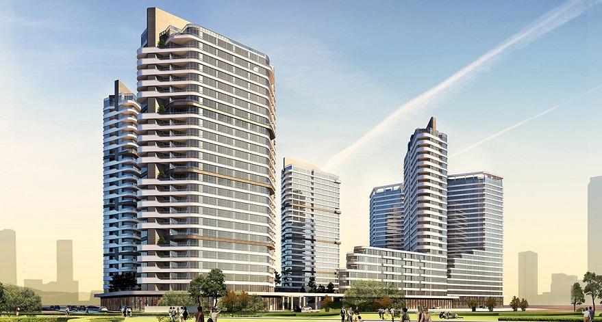 Evora İzmir Projesinde 260 Bağımsız Bölümün Yapı Ruhsatı Alındı