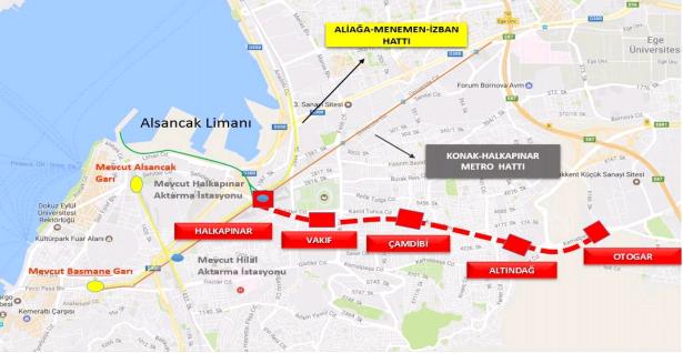 2,5 Milyarlık Halkapınar Otogar Metrosu İçin 3 Bin TL Kaynak Ayrıldı