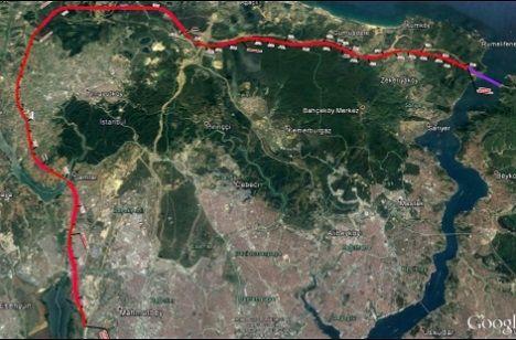 3. Köprü-3. Havalimanı-Halkalı Hızlı Tren Hattı İçin Düğmeye Basıldı!