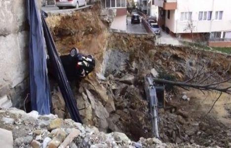 Maltepe'de 3 Katlı Bina Yıkıldı!