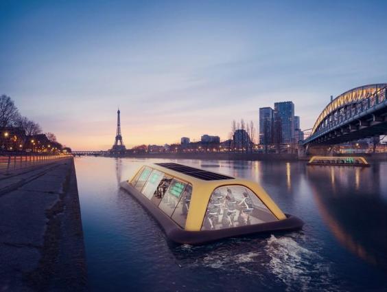 Paris'te Yüzen Spor Salonu İnşa Edilecek