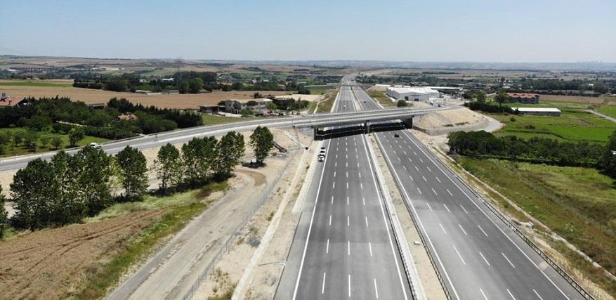 Kuzey Marmara Otoyolu 21 Aralıkta Tamamlanacak