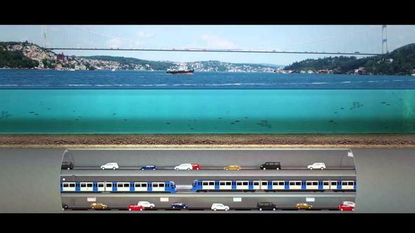 3 Katlı Büyük İstanbul Tüneli Projesi'nin İhalesi Yarın