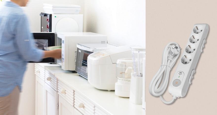 Viko Multi-Let Şok Korumali Prizlerle Evinizdeki Elektronik Cihazlar Güvende!