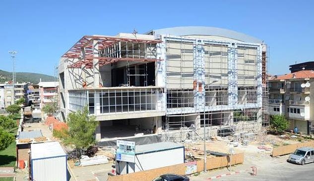 Kemalpaşa Kültür Merkezi İnşaatı 2016 Sonunda Tamamlanacak