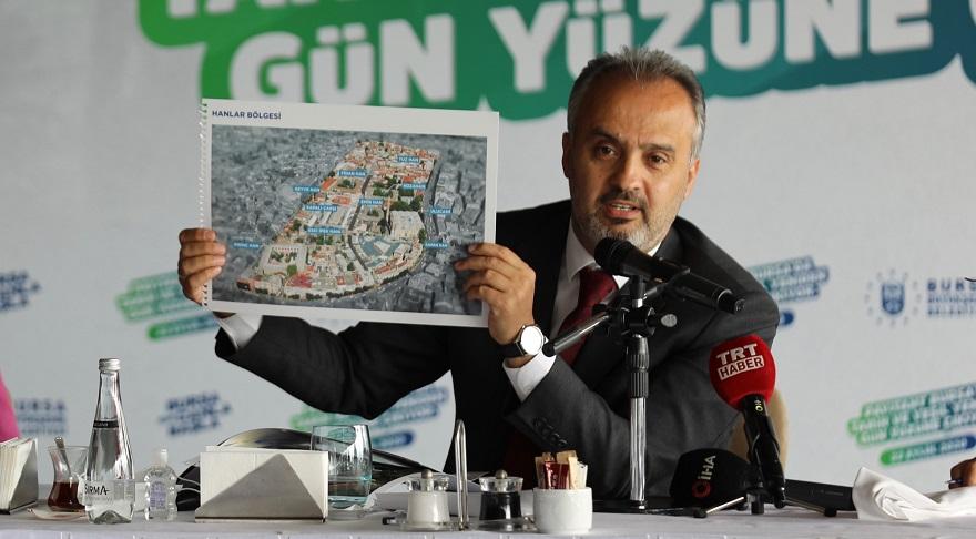 Bursa'da 20 Bin Konut Kentsel Dönüşüm İle Yenilenecek