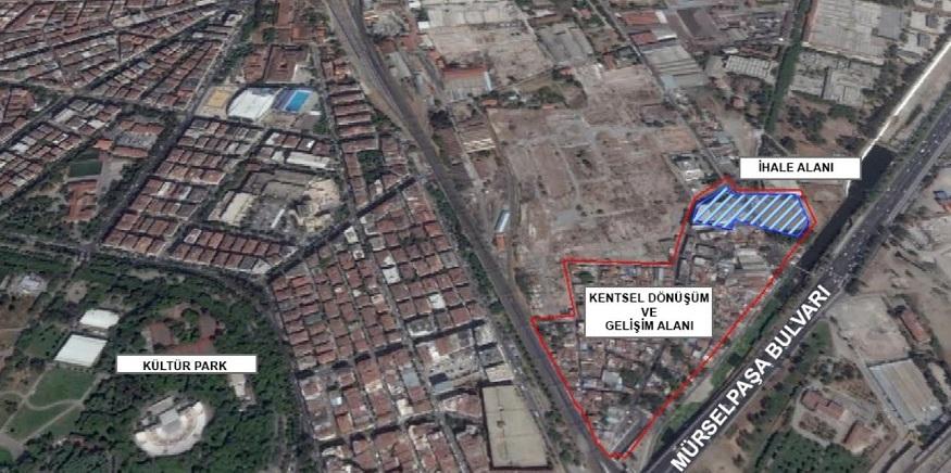 Ege Mahallesi Kentsel Dönüşüm Projesi 7. Kez İhaleye Çıkıyor