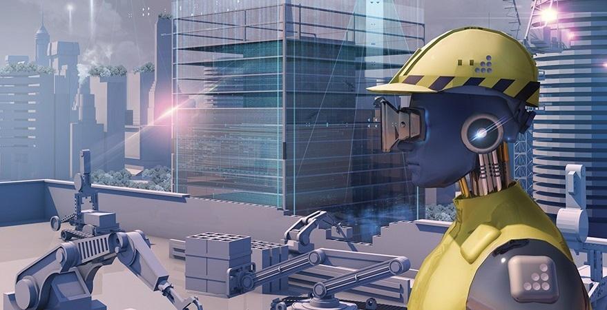 24 Saat Çalışan Robot İnşaat İşçileri Geliyor