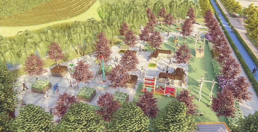 Bolu Millet Bahçesi Projesinin İhalesi Yapıldı