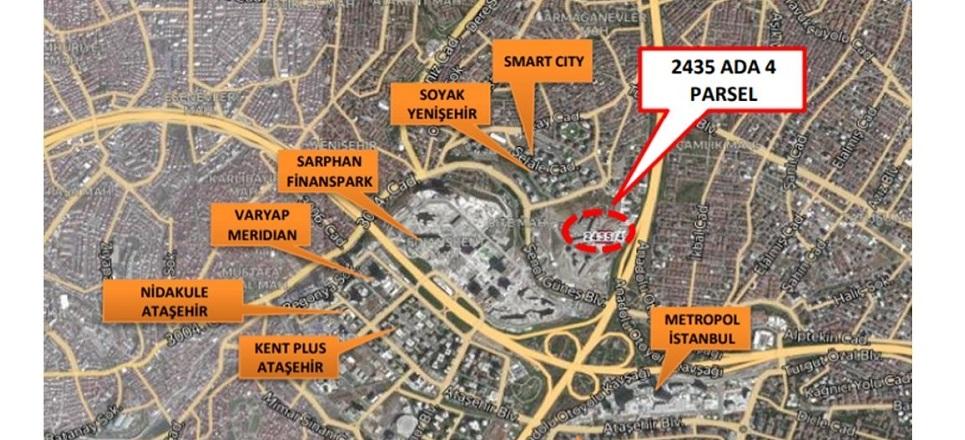 Sinpaş GYO Ümraniye'deki Arsasını 55 Milyon TL'ye Sattı