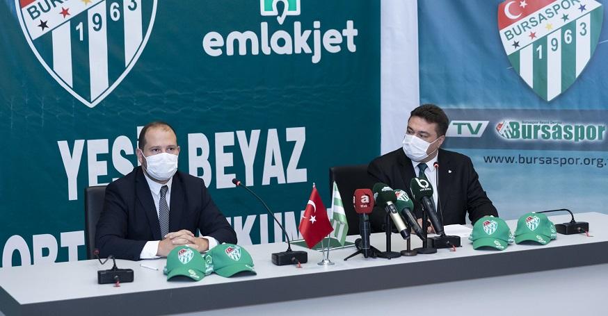 Emlakjet, Bursaspor'a Sponsor Oldu