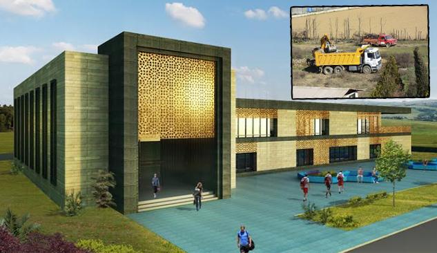 Ödemiş Gençlik Merkezi İnşaatı Başladı