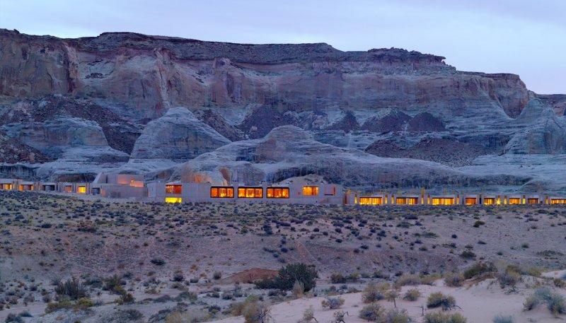 Utah Çölünde Muhteşem Otel