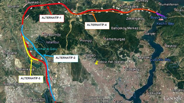 3.Köprü-3.Havaalanı-Halkalı Demiryolu'nun ÇED Süreci Başladı