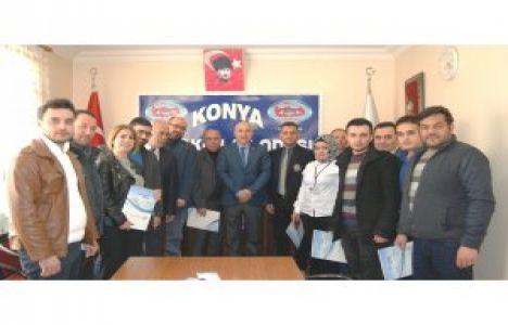 Konya'da Emlak Danışmanları Sertifikalarını Aldı