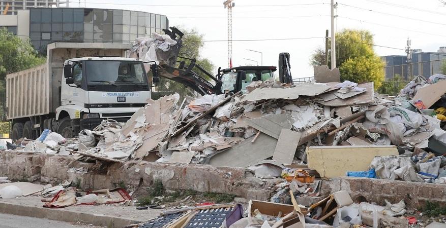 Konak'ta Molozla Mücadelede Yeni Önlemler