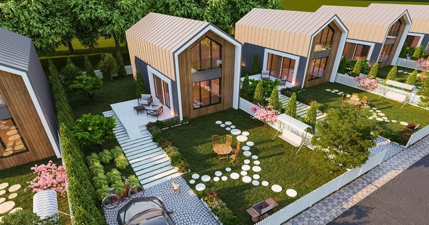 Villa'de PIAR'da Fiyatlar 390 Bin TL'den Başlıyor