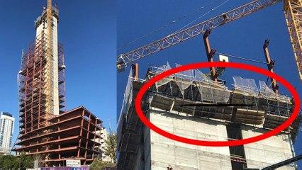 Depremde Gökdelen İnşaatından Düşen İşçi Hayatını Kaybetti