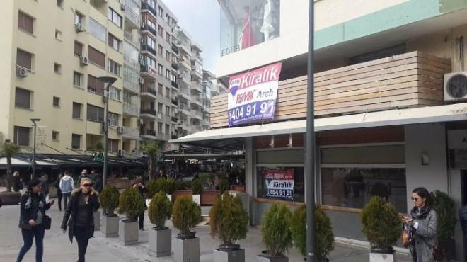 İzmir'in Simge Dükkanı 80 Bin Liraya Kiralık!