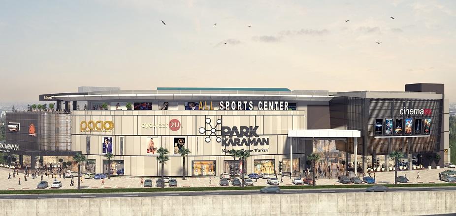 Park Karaman AVM 26 Kasımda Açılıyor