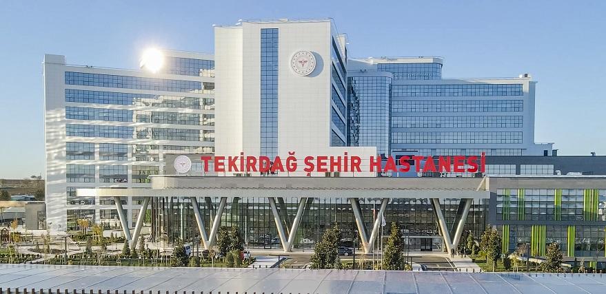 Tekirdağ Şehir Hastanesi Açılıyor