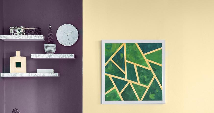 Duvarlarda İki Renk Kullanımının Detayları