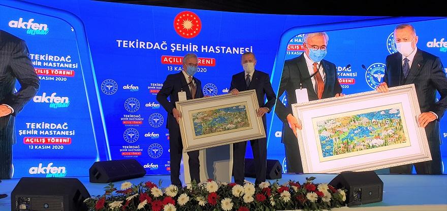 Akfen Holding 3 Şehir Hastanesine 1,1 Milyar Dolar Yatırdı