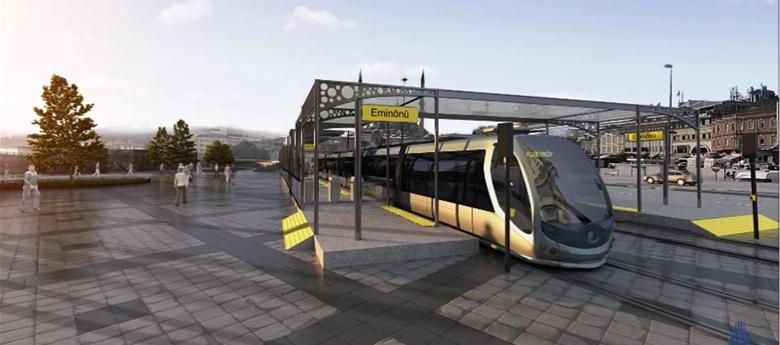 Eminönü-Alibeyköy Tramvay Hattı 2020 Sonunda Açılıyor