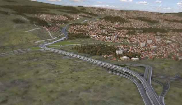 Büyükşehir'in Otoyol ve Tünel İhalesine 37 Firma Teklif Verdi