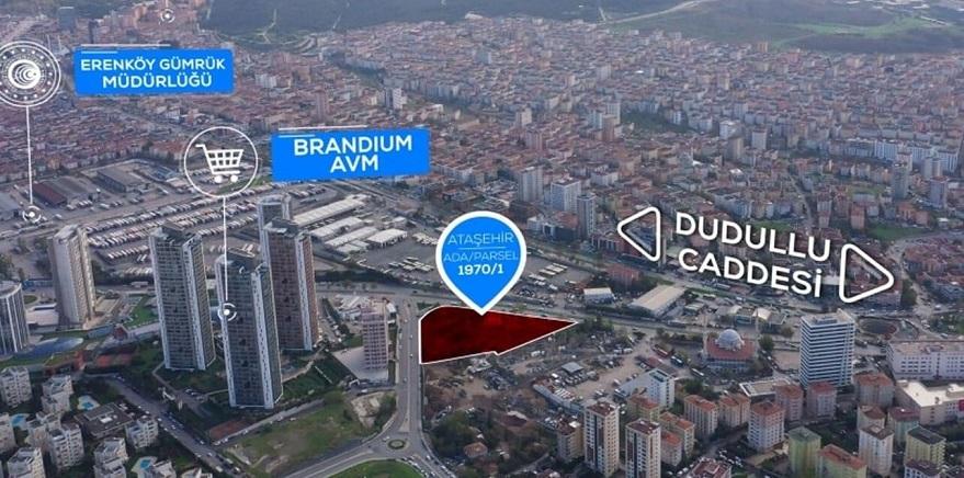 Emlak Konut GYO Ataşehir'deki Arsasını 85 Milyon TL'ye Satıyor