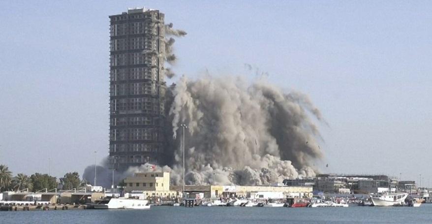 144 Katlı Bina 10 Saniyede Yıkıldı!