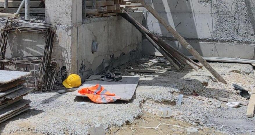 2. Kattan Düşen İnşaat İşçisi Hayatını Kaybetti