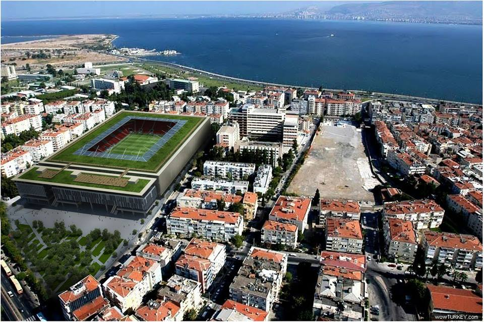 Göztepe Stadı imar Planı Askıya Çıktı!