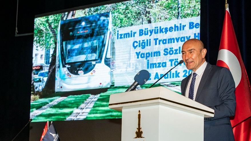Çiğli Tramvay Projesi İçin Sözleşme İmzalandı!
