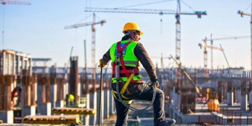 İnşaat Sektöründe İstihdam Edilen Kişi Sayısı 110 Bin Arttı