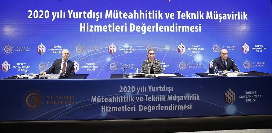 Türk Müteahhitlerin 2021 Hedefi  20 Milyar Doları Yakalamak