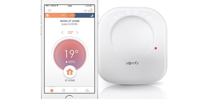 Somfy Akıllı Termostat ile Faturaları Düşürüyor