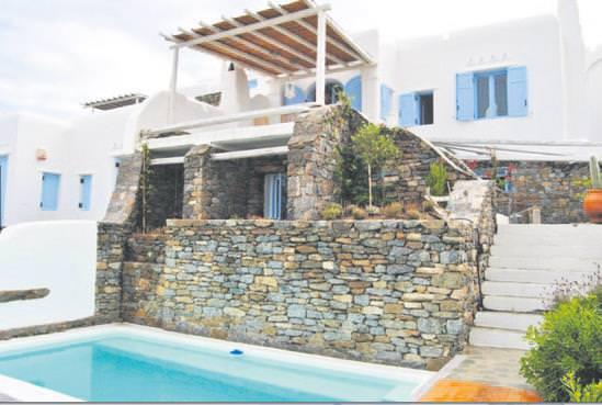 Eda Taşpınar Yunanistan'da Villa Satın Aldı