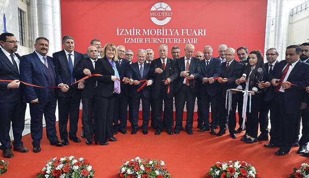 28. İzmir Mobilya Fuarı Açıldı